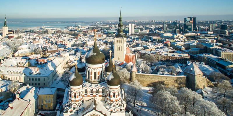 Estonia cityscape, © Rainer Süvirand