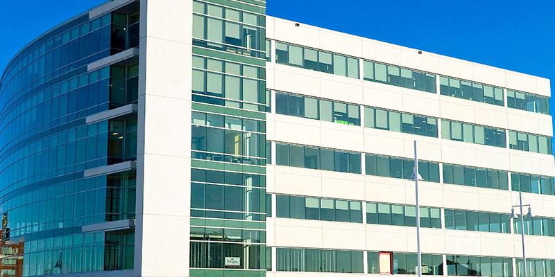 Exterior shot of a Regus building