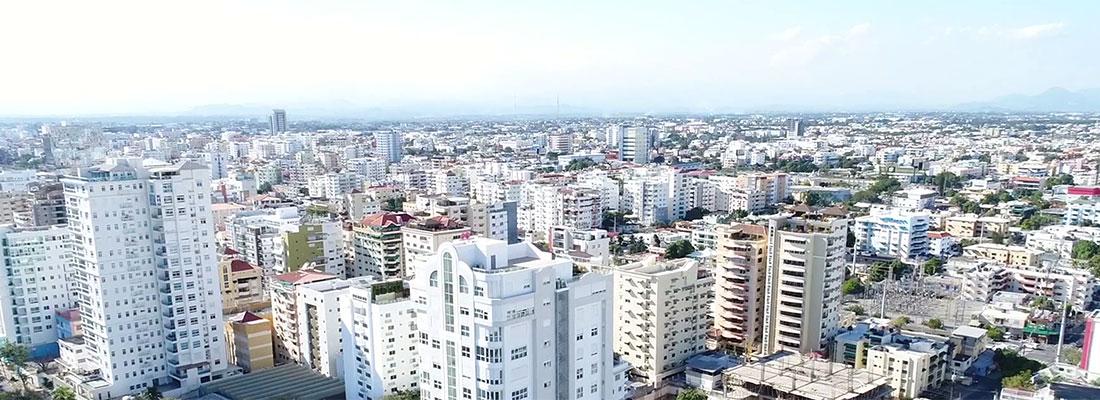 Cityscape of Santon Domingo, Dominican Republic